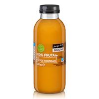 Smoothie 100% Fruta com Frutos Tropicais Pingo Doce 330ml
