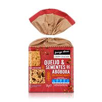Crispy Cracker Queijo & Sementes de Abóbora Pingo Doce 150g
