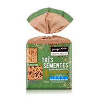 Crispy Cracker Três Sementes Pingo Doce 150g