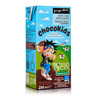 Leite com Chocolate Pingo Doce 200ml