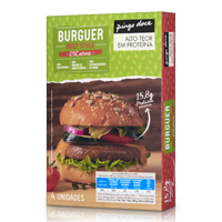 Burguer Beef Style Pingo Doce 4 Unid.