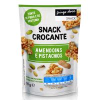 Snack Crocante Amendoins e Pistáchios Pingo Doce 90g