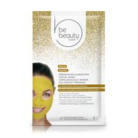 Máscara Facial de Hidratação Premium Ouro Be Beauty