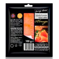 Salmão Fumado Noruega Pingo Doce 100G