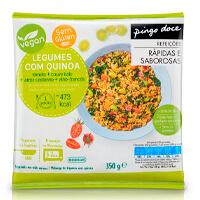 Legumes Salteados com Quinoa Pingo Doce 350g