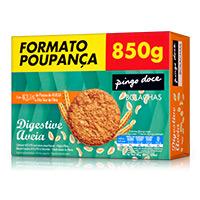 Bolachas Digestive Aveia Pingo Doce 850g