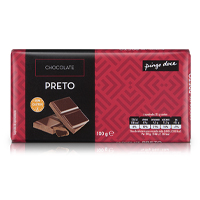 Chocolate Preto Pingo Doce 100g