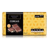 Chocolate de Leite com Cereais Pingo Doce 100g