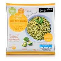 Veggie Rice Pingo Doce 450g