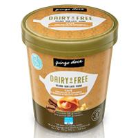 Gelado de Caramelo Salgado com Pedaços de Macadâmia Caramelizada Sem Leite Pingo Doce 500ml