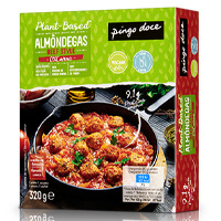 Almôndegas Beef Style c/ Molho de Tomate 0% Carne Pingo Doce 320gr