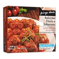 Almondegas Com Molho Tomate Pingo Doce  420G